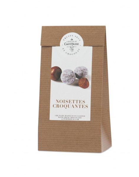 Café-Tasse хрупкав лешник в шоколад и захар